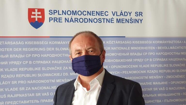 Splnomocnenec pre národnostné menšiny Bukovszky: legislatívny zámer pripravovaného menšinového zákona je výsledkom odbornej práce a nie politickej snahy